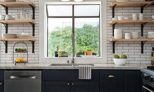 انواع شلف دیواری آشپزخانه