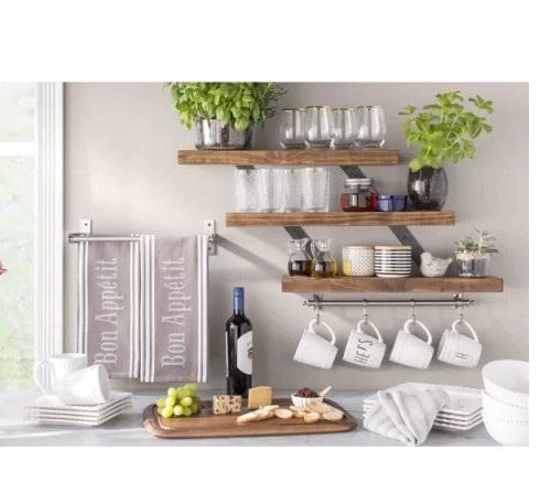شلف دیواری آشپزخانه