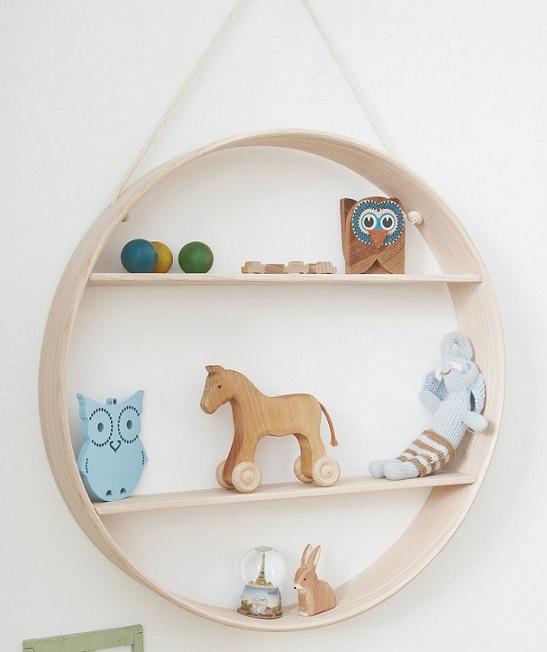 شلف و باکس دیواری اتاق کودک