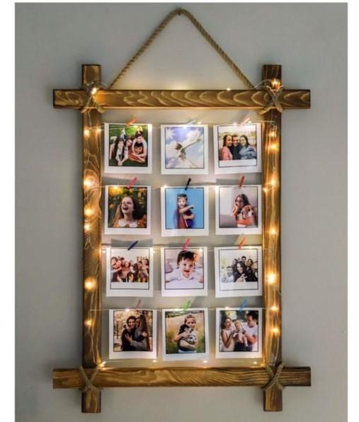 استفاده از قاب عکس های چوبی