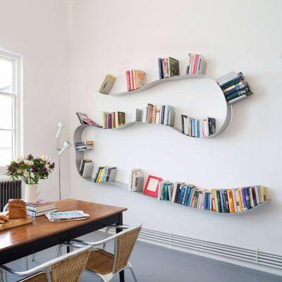 مزایای طراحی قفسه کتاب