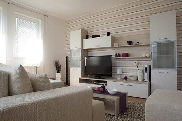 نحوه طراحی مدرن دیوار تلویزیون و باکس دیواری
