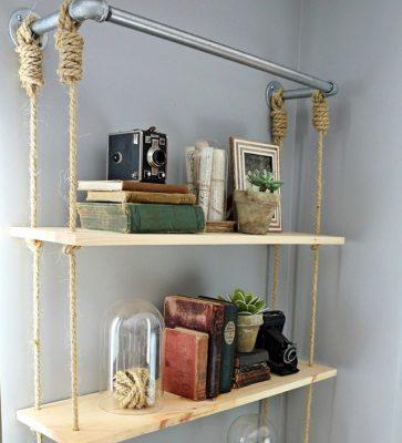 ایده دیزاین قدیمی با قفسه