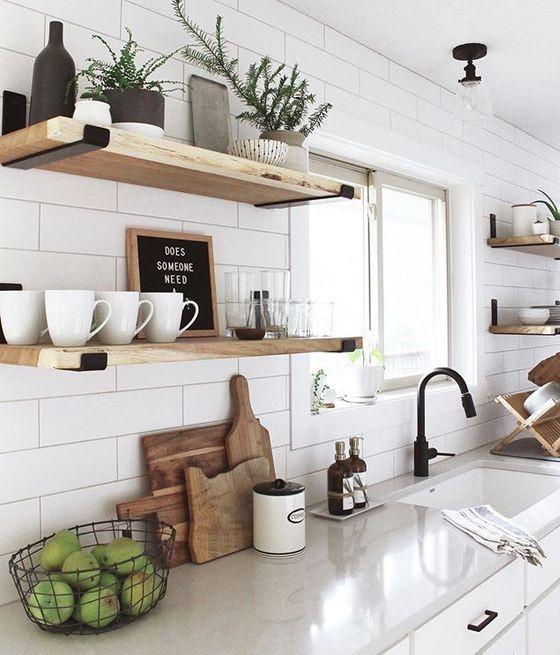 انتخاب مکان شلف دیواری آشپزخانه
