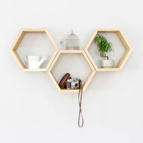 شلف شش ضلعی ساده کد 1601